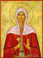 IMG ST. CHRISTINA, the Greatmartyr of Tyre