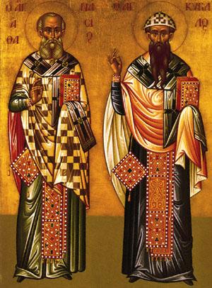 Athanasios and Cyril, Patriarchs of Alexandria