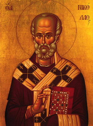 Nicholas the Wonderworker, Archbishop of Myra